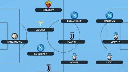 Geen Cristiano Ronaldo maar wel Dries Mertens in het beste 'statistiekenelftal' van de Serie A