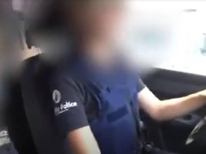 Agente wordt gefilmd terwijl ze 'makak' en 'homo' roept naar burgers in Anderlecht, maar ze krijgt geen straf