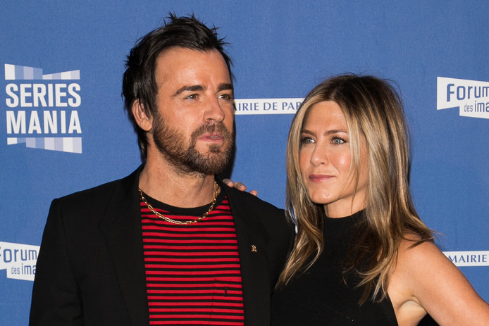 Justin Theroux en Jennifer Aniston.