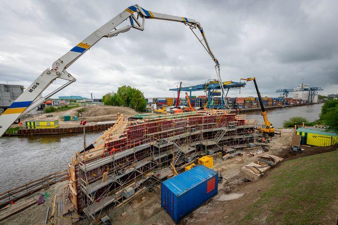 Werkzaamheden Boekelosebrug over Twentekanaal