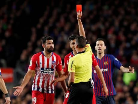 Diego Costa boycot training uit protest tegen boete
