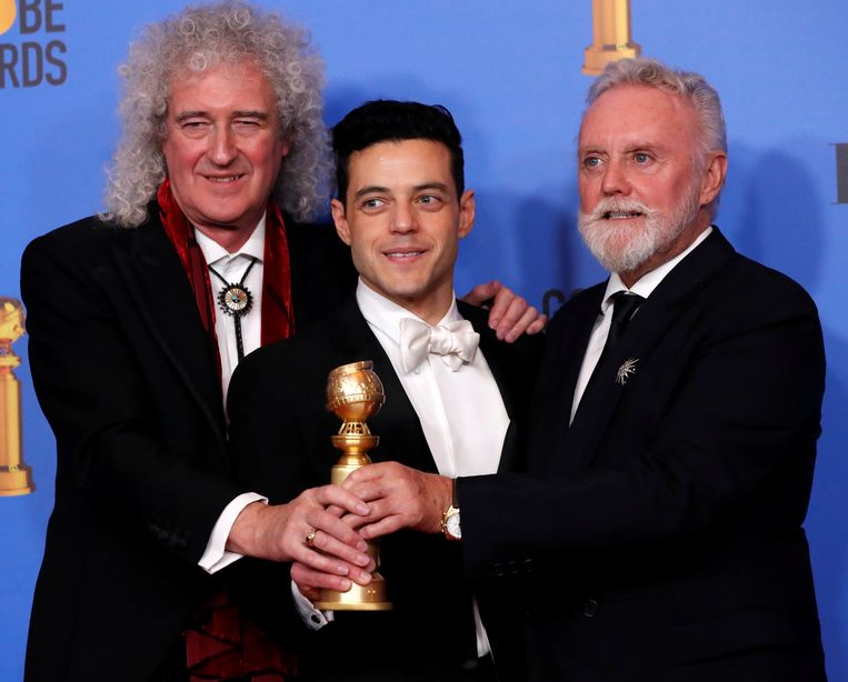 'Bohemian Rhapsody' was de grote winnaar op de Golden Globes.