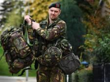 Nederland bewaken en beveiligen bij de Korps Nationale Reserve