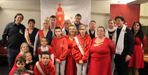 Orde van de Hofmaarschalken keert terug naar de middeleeuwen voor de traditionele proefaflegging