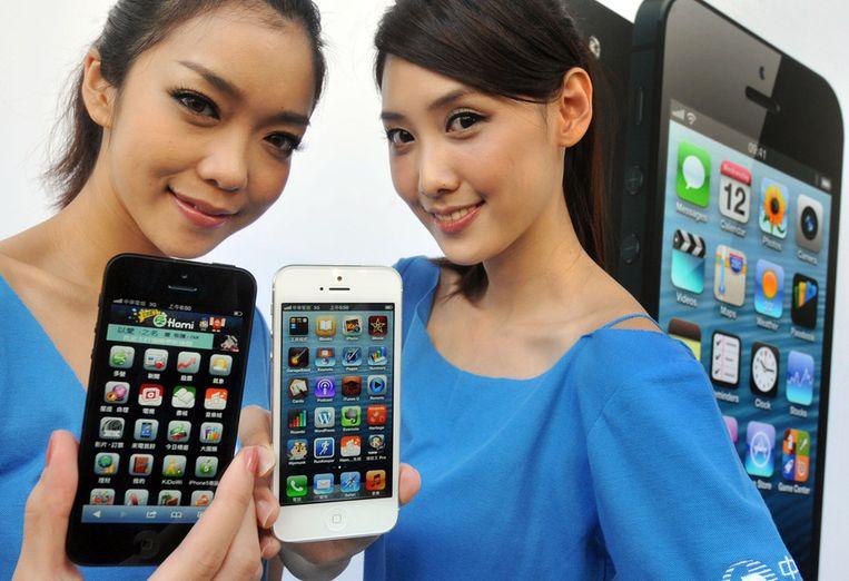 iPhone 5 Beeld afp
