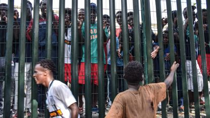 Spanje zet bestormers hek in Ceuta meteen weer uit naar Marokko