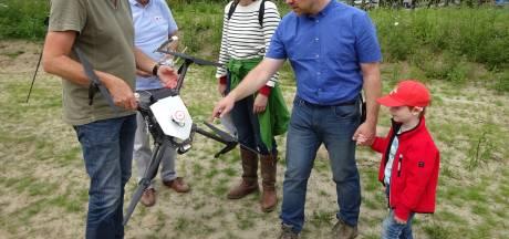 Drone houdt oogje op weidevogels in Land van Heusden en Altena