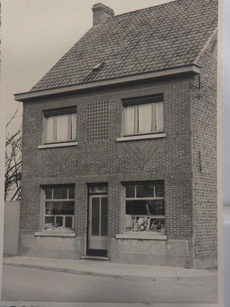 De buurtwinkel anno 1938.