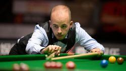 Luca Brecel moet op Northern Ireland Open snooker opnieuw meerdere erkennen in Judd Trump