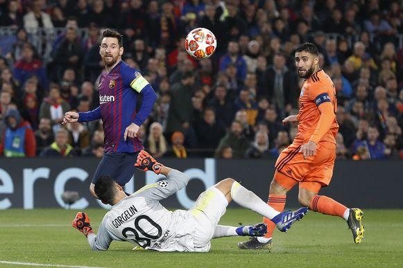 Messi lobt Gorgelin.