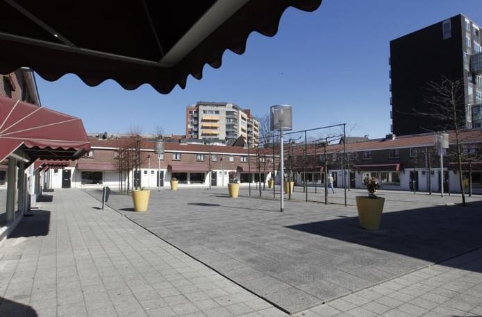 Het Baekelandplein in Eindhoven. Archieffoto Irene Wouters
