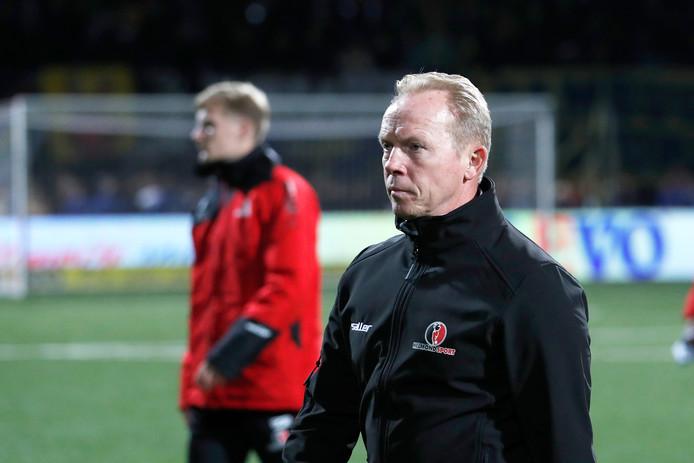 Helmond Sport-trainer Wil Boessen verwacht veel van de thuiswedstrijd tegen TOP.