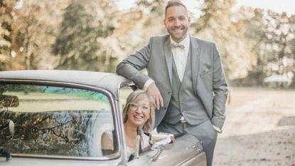 """Line en Viktor trouwden vandaag opnieuw: """"Gelukkiger dan ooit"""""""