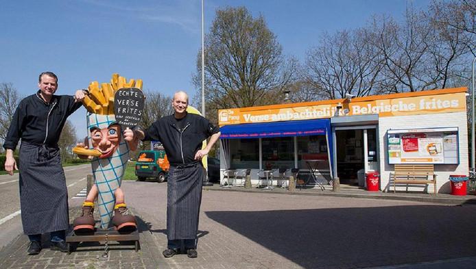 De eigenaren van snackbar De Pomp in Eindhoven