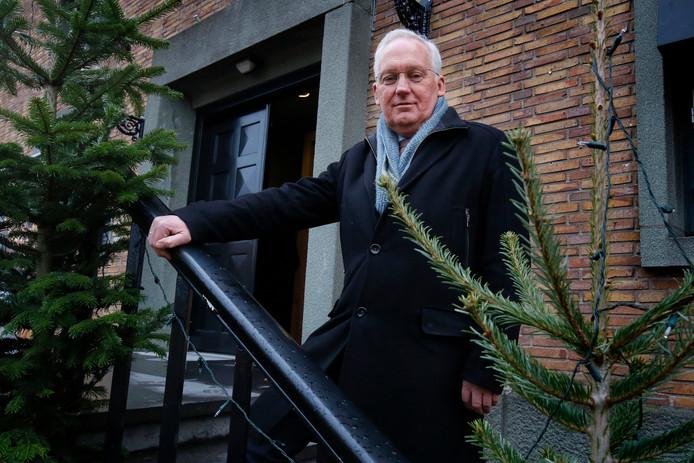 Burgemeester Dirk van der Borg.