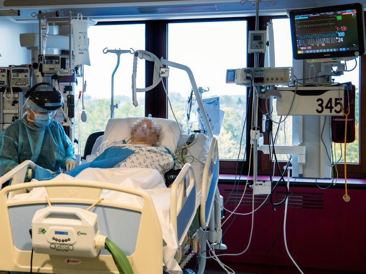 Vandaag al minstens 689 opnames in de ziekenhuizen: record van einde maart is gebroken
