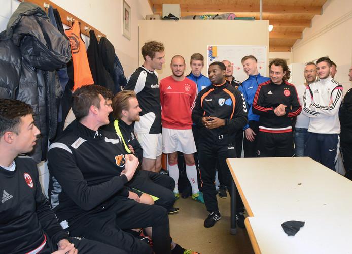FC De Westhoek, de ploeg van trainer Steven Seedo, deed het zaterdagavond prima tegen profs uit Saoedi-Arabie.