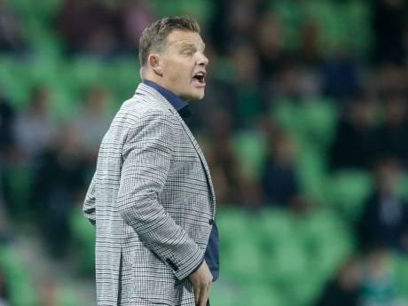 Stegeman jaloers op intensiteit en agressiviteit Groningen: 'Wij zijn met PEC in fases heel, heel, heel matig'
