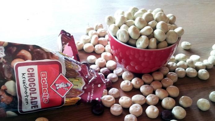 Dankzij de actie van Gerrieke Klooster is er straks misschien wel een zak vol witte chocolade kruidnoten van Bolletje