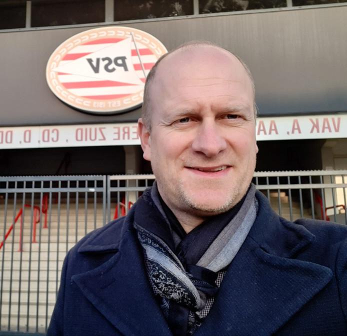 Rik Elfrink, clubwatcher van PSV, afkomstig uit St. Isidorushoeve.