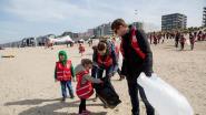 2.503 vrijwilligers verzamelen 5,3 ton afval aan kust