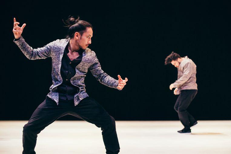 Kata van Compagnie par Terre/choreografe Anne Nguyen Beeld Homard Payette