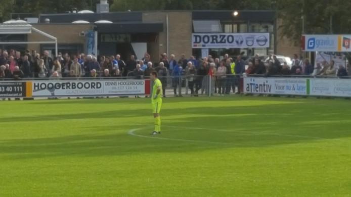 Hoek-doelman Jordi de Jonghe hield tegen Zwaluwen voor de vierde keer dit seizoen 'de nul'.
