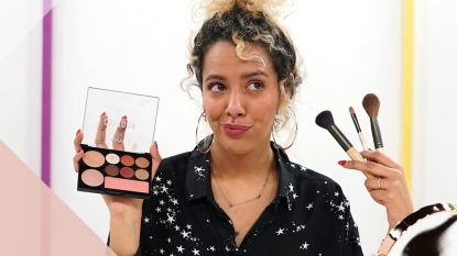 Contour: Make-up  aanbrengen zonder borstels