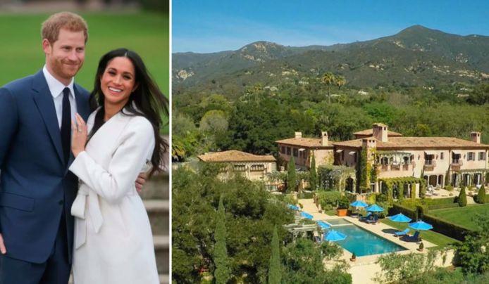 Le prince Harry et son épouse Meghan Markle ont fait l'acquisition d'une villa à Santa Barbara, sur la côte californienne.