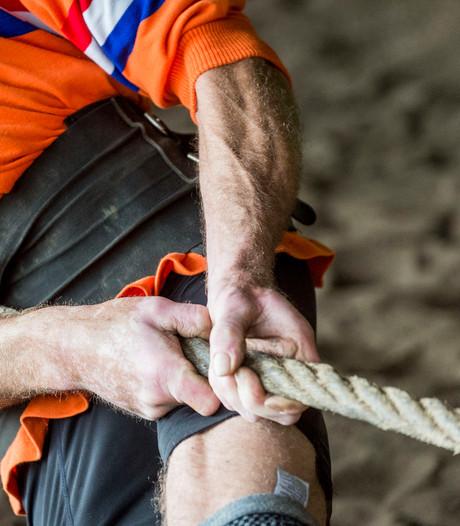 Gerben uit Eibergen gaat touwtrekkend de hele wereld over