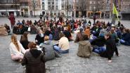VIDEO Studenten in de bres voor het klimaat: momenteel zitstaking op Ladeuzeplein