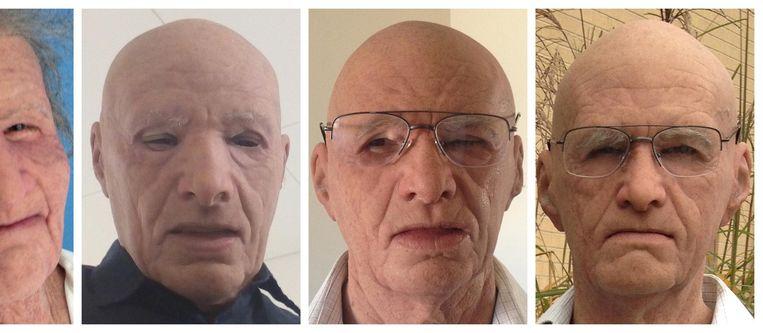 Test het zelf: wie van deze personen draagt een siliconen masker? Beeld  Department of Psychology, University of York