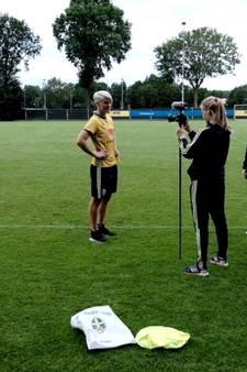 Zweedse damesteam vlogt in Zevenaar