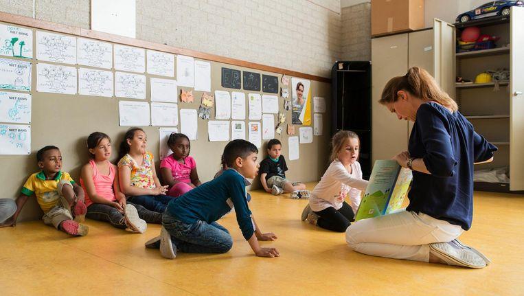 Simone Arts gaf twee jaar geleden les op de Bataviaschool Beeld Charlotte Odijk