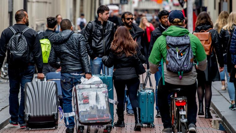 'Het is zaak om de toeristische groei zo veel mogelijk uit bezoekers te laten bestaan die de stad wat opleveren' Beeld anp