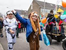 In de Oldenzaalse wijk De Thij was het vrijdag al carnaval