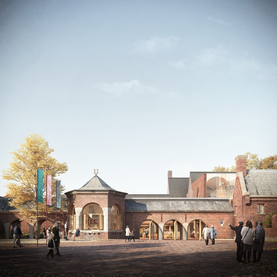 Een impressie van het toekomstige schoenenmuseum in Waalwijk.