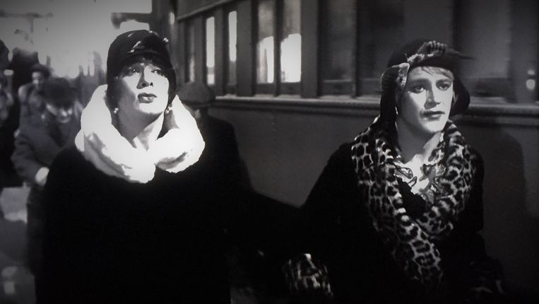 Tony Curtis (links) en Jack Lemmon in Some Like it Hot. Beeld
