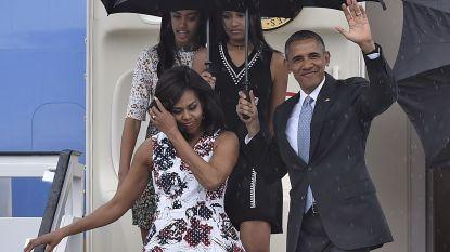 Michelle Obama had miskraam en kreeg dochters via IVF