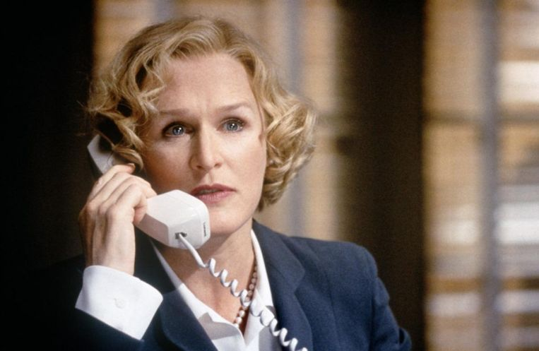 Glenn Close als vice-president Kathryn Bennett in Airforce One (1997) Beeld