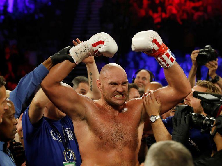 Tyson Fury is wereldkampioen bij de zwaargewichten bij WBC.