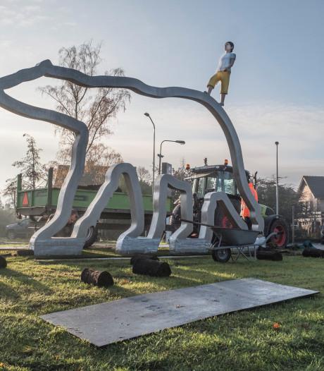 Kunstwerk Zevenheuvelenweg verwijst naar ijstijd en de Polar Bears