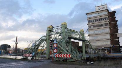 Ophaalbrug Nyrstar zes weken afgesloten