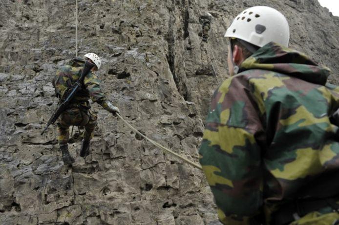 Le camp militaire d'entrainement de para-commandos à Marche-les-Dames (archives).