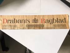 Een kapitale fout uit 1977: voor een keer het 'Drabants Bagblad' in de bus