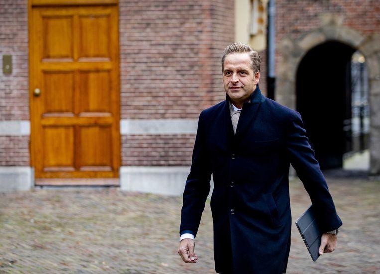 Hugo de Jonge, minister van Volksgezondheid, Welzijn en Sport Beeld ANP