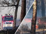 Grote natuurbrand bij Soester Duinen
