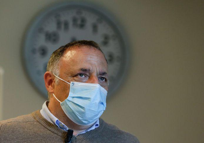 Le virologue Marc Van Ranst