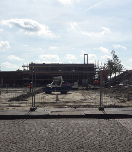Laatste loodjes bouw Jumbo Oostburg
