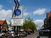 Ruim baan voor terrassen op Spuiplein in Spakenburg